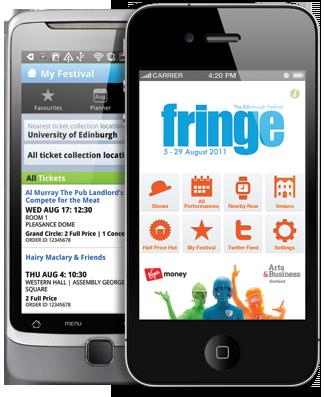 Edinburgh Fringe App – Review