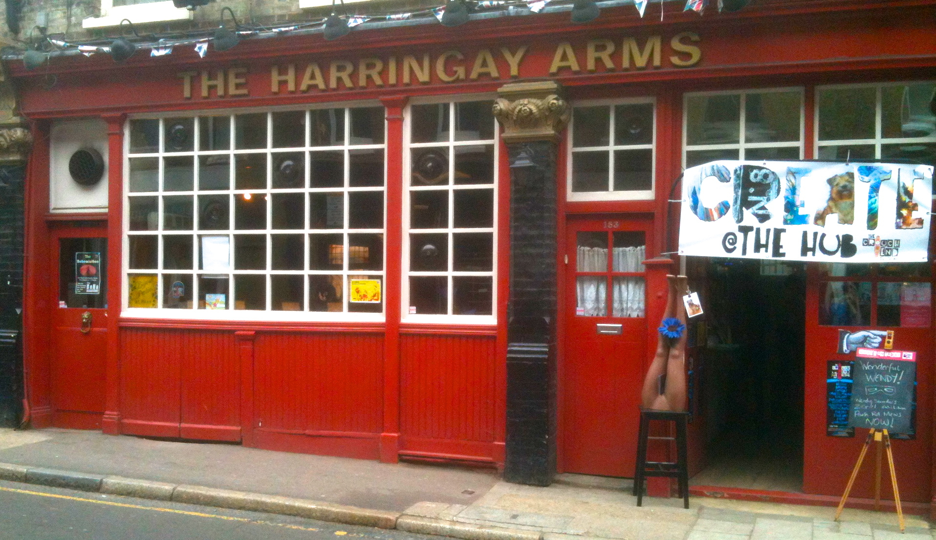 The Harringay Arms – Creative Hub of Crouch End